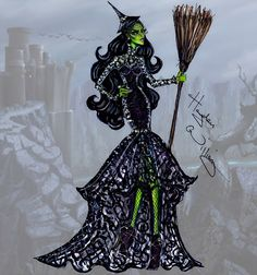 The Wizard of Oz 75th Anniversary: Wicked Witch of the West by Hayden Williams