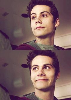 Dylan O'Brien as Stiles on Teen Wolf