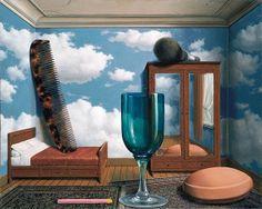 René Magritte, Les Valeurs personnelles, 1952 by kraftgenie, via Flickr