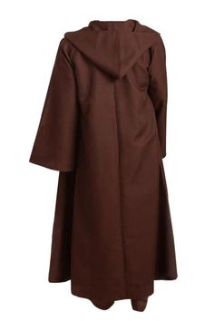 7804e05148 Star Wars Jedi Hooded Cloak Robe Brown Cape Halloween Party Cosplay Costume  Hooded Cloak Robe
