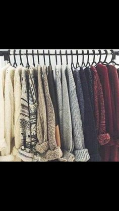 Get in my closet! Christmas goals.