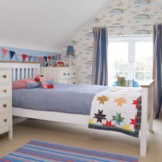 Kinderzimmer Wohnideen Möbel Dekoration Decoration Living Idea Interiors home nursery - Schlafzimmer Bunte Jungen