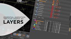 Essential Animation Tips for Cinema 4D: Layers on Vimeo