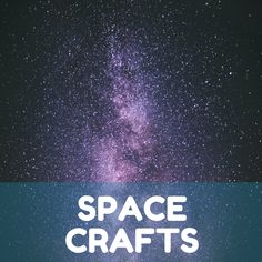 Get crafty with us! Join us the second Tuesday of every month for Instagram Live Space Crafts! We'll teach you how to make some of your favorite space-related crafts and have some fun along the way.