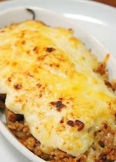 Doria, Japanese Rice Gratin Recipe (hey, I made this in Rune Factory a few times!)
