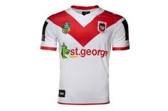 St George Illawarra Dragons NRL 2017 Home S/S Replica Rugby Shirt  From Lovell Rugby Limited  £65