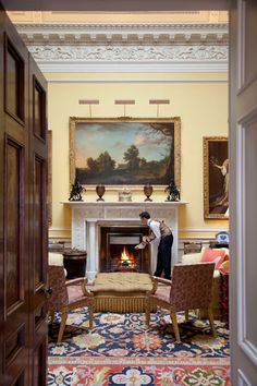 Hotels / Ballyfin House / Ireland