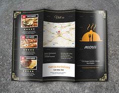 "Check out new work on my @Behance portfolio: ""Tri Fold Restaurant…"