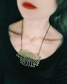 Nouvelle collection audreylcreation.tictail.com créatrice de bijoux collier 'Euclide'