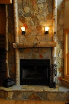 Champlain Stone: Photo Gallery, Thin Veneer, Fireplace, Hearth, Hand Select Thin Veneer, South Bay Quartzite, Rustic, Adirondack, Light, Warm, Earthtones, Brown, White, Buff, Russet Orange, Amber