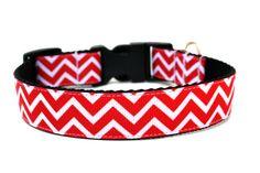 Striped Dog Collar 1 Chevron Dog Collar by Wagologie on Etsy, $17.00