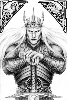 Prince Nuada Silverlance by ~silvern-geo on deviantART