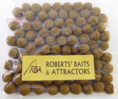 RBA Roasted Nut Flavour 14mm HNV Boilies Carp Fishing Bait in 200g packs. Just £2.99 plus P&P. Contact us for more details