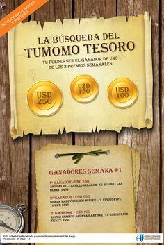 Centro Comercial Online de Bolivia - Encuentra tu tesoro y gana hasta U$D 250 cada semana