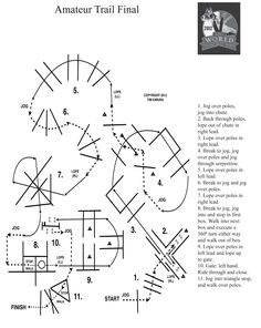 Practice the 2012 AQHA World Championship amateur trail pattern at home! For more information about the AQHA World Show, visit: http://aqha.com/Showing/World-Show.aspx