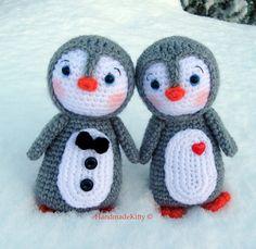"""crochet penguin """"inspiration"""" only"""