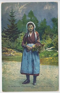 3148-Carte postale  - COSTUMES DE SAVOIE