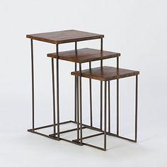 I just love nesting tables. So versatile!