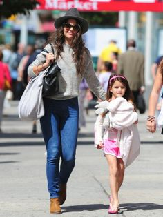 Katie Holmes and Suri Cruise, plus more Hollywood mini mes!
