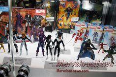 SDCC 2013 - Hasbro Marvel Universe 3.75 Inch, Marvel Legends Captain America