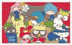 My Sanrio Fave - Sanrio Stars Wallpaper, Wallpaper 2016, Kitty Wallpaper, Hello Kitty Pictures, Sanrio Hello Kitty, Little Twin Stars, My Melody, Sheep, Twins