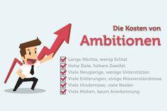 Wer viel erreichen möchte, braucht einen entsprechenden Ehrgeiz. Doch Ambitionen können einen Menschen auch zerstören...     http://karrierebibel.de/ambitionen/