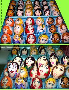 Princess Easter Eggs