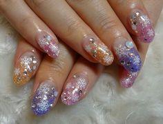Зимний маникюр со снежинками ::: onelady.ru ::: #nail #nails #nailart #manicure