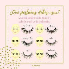 ¿Usas pestañas?   ¿Sabés cuál estilo resaltará tu mirada?   Si tu respuesta es NO 😱  No te preocupes, analiza la forma de tu ojo y encuentra el estilo que te favorece. . #pestañas #pestañasmagneticas #pestañaspostizas #pestañaspeloapelo #tipsdemaquillaje #makeup #maquillajenatural #maquillajeojos #maquillata #aprendeamaquillarte Kawaii, Makeup, Instagram, Shape, Natural Makeup, Style, Make Up, Beauty Makeup, Bronzer Makeup