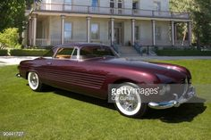 Stock Photo : 1953 Cadillac Series 62 Coupe with special coachwork by Ghia