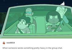 pft. Steven Universe gets deep