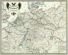 31 Best Old German Maps Images Cards Maps Blue Prints