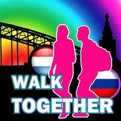 Walk Together - Russisch-Nederlandse wandelgroep Nijmeegse Vierdaagse 2014