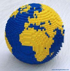 LEGO' WORLD GLOBE!