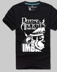 Cool Dota 2 hero Mangix t shirt Pandaren Brewmaster printed short sleeve tee for boys-