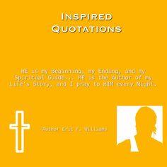 #AuthorEFW #InspiredQuotations #ThoughtsWithinThoughts #GodBeforeAllThings