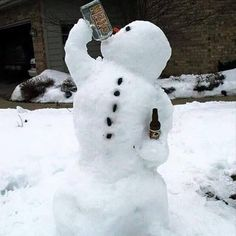 Even the snow is cold and needs to warm up !