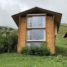 Alpine homes. Peter Zumthor, Leis, Switzerland, Shed, Minimalist, Outdoor Structures, Homes, Architecture, Building