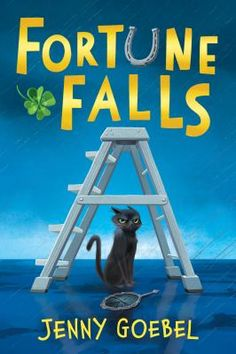 """In Fortune Falls, where superstitions are real, and all children must pass regular """"luck tests"""" to see if they are worthy, ill-fortuned Sadie has always been deemed as unlucky, and shunted aside for her luckier younger brother--but when she finds an unusually intelligent black cat named Jinx, her fortunes begin to change for the better."""