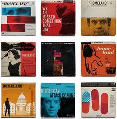 Homeland Vintage Jazz Record Covers: OBlog: Design Observer
