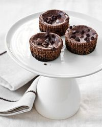 Mini Chocolate-Hazelnut Cheesecakes Recipe on Food & Wine