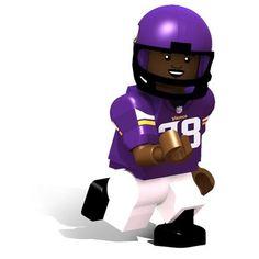 Adrian Peterson Minnesota #Vikings OYO Minifigure. Click to order! - $12.99