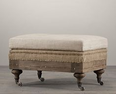 restoration hardware knockoff - this site shows you how to do duplicate this