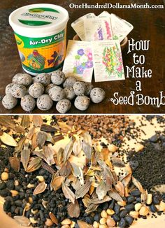 How to Make a Seed Bomb - One Hundred Dollars a Month Firefighter Quotes, Volunteer Firefighter, Firefighters, Volunteer Gifts, Volunteer Appreciation, Montessori Kindergarten, Fundraising Events, Fundraising Ideas, Seed Bombs