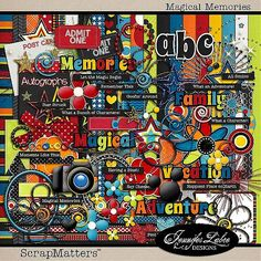 The Essentials - No vacation scrapbook would be complete without them! - Page 6 - MouseScrappers.com