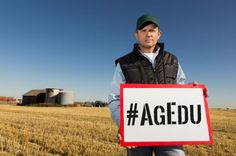 The five ag-related hashtags your should be following to learn about farmers and food.