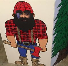 Lumberjack Birthday Party Ideas | Photo 1 of 22 | Catch My Party