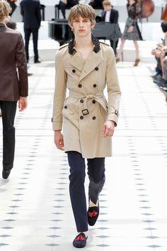 Burberry Prorsum Spring 2016 Menswear Fashion Show - Ole Stirnberg