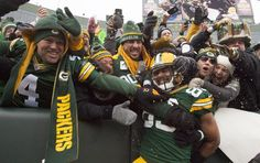 Green Bay Packers tight end Richard Rodgers celebrates his go-ahead touchdown catch in the fourth quarter Sunday at Lambeau Field in Green Bay. The Packers beat the Dallas Cowboys, 26-21.