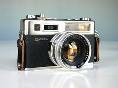 Retro Yashica Electro 35 Rangefinder Camera GSN Mint by MustyMusts, $97.00